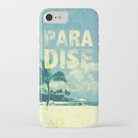 paradise iPhone & iPod Cases featuring Paradise by M Studio