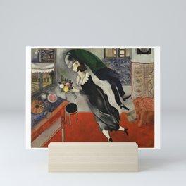 Marc Chagall, The Birthday 1915 Artwork, Posters Tshirts Prints Bags Men Women Kids Mini Art Print