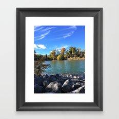 Autumn Bow Framed Art Print