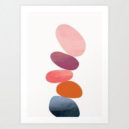 Balancing Stones 23 Art Print