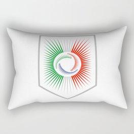 Italy Crest Rectangular Pillow