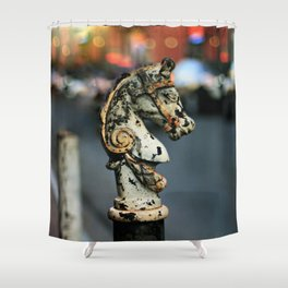 New Orleans Hitching Post #1 Shower Curtain