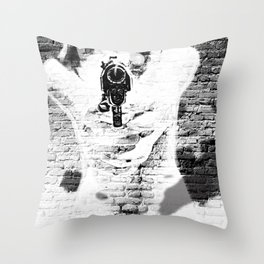 Shooter Throw Pillow
