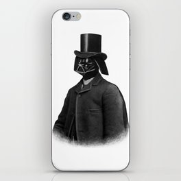 Lord Vadersworth (mono) iPhone Skin