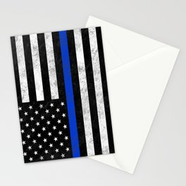 Thin Blue Line Stationery Cards