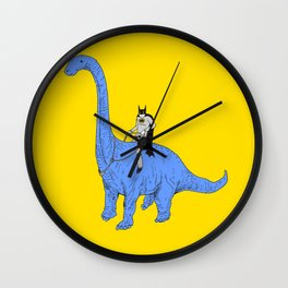 Dinosaur B Wall Clock