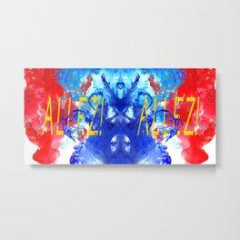 ALLEZ! ALLEZ! - Diptych Metal Print