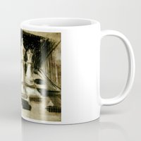 chess Mugs featuring Chess by James Peart