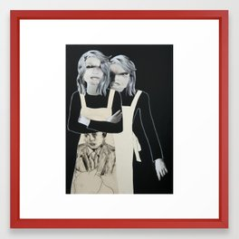 The Other Me Framed Art Print