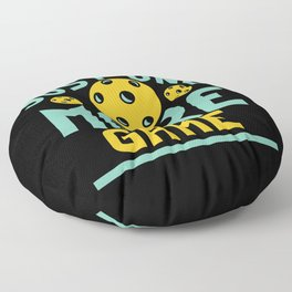 Pickleball Design: Just One More Game I Serve, Score & Day Floor Pillow