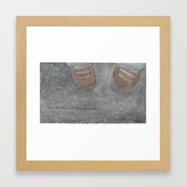 see the stars Framed Art Print