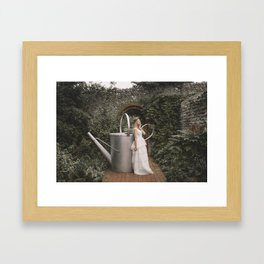 A Garden of My Own Framed Art Print