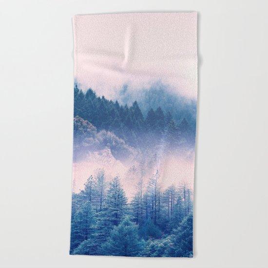 Pastel vibes 03 Beach Towel