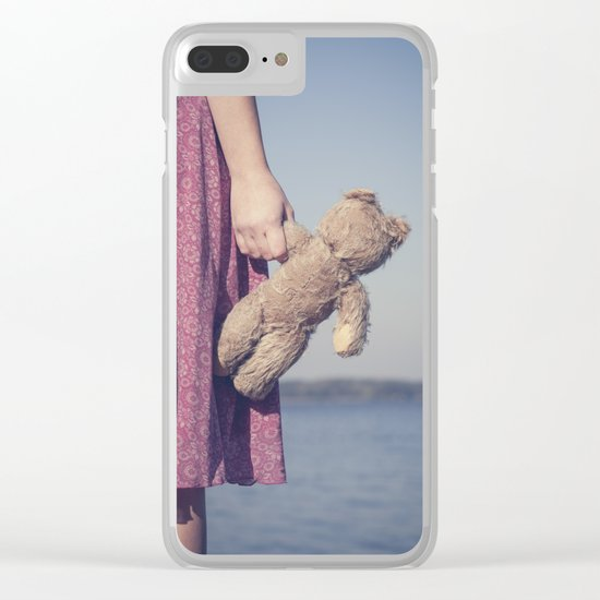 Teddy Clear iPhone Case