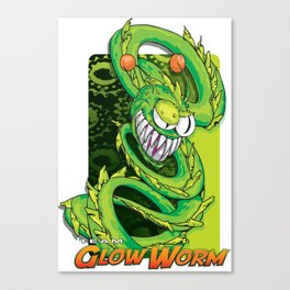 Team Glow Worm Canvas Print