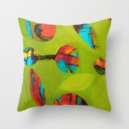 Chaos Contained Throw Pillow
