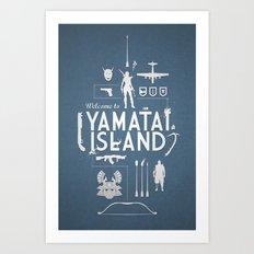 Welcome To Yamatai Island - Tomb Raider Art Print