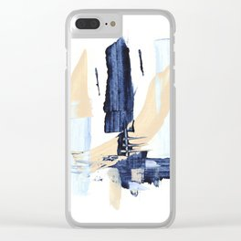 Minimal Expressions 04 Clear iPhone Case