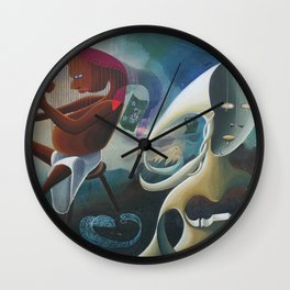 Self-Made Man and Empty-Headed Woman (1994) Wall Clock