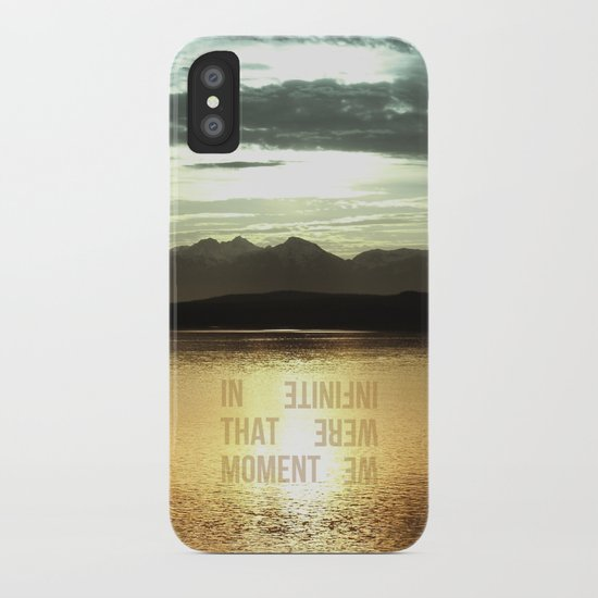 In that Moment, We were Infinite iPhone Case