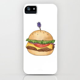 B is for Burger iPhone Case