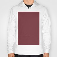 wine Hoodies featuring Wine by List of colors