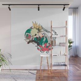 Bakugo Hero Academia Wall Mural