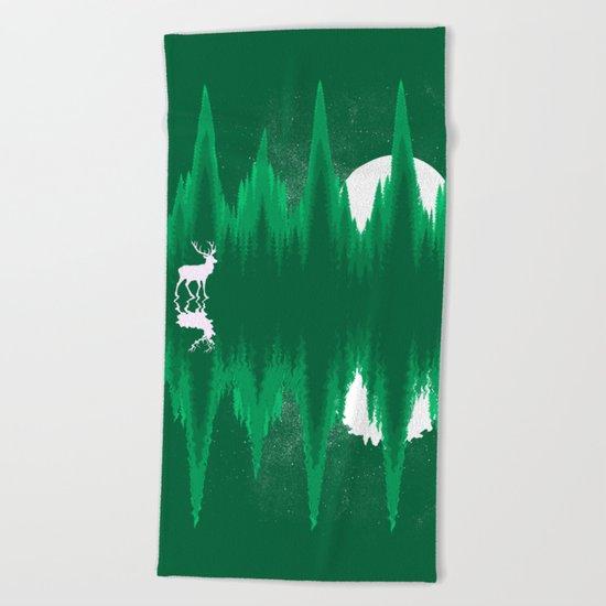 Equalizer Beach Towel