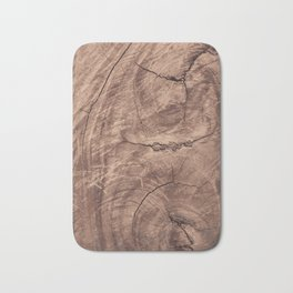 Baesic Wood Grain Texture Bath Mat