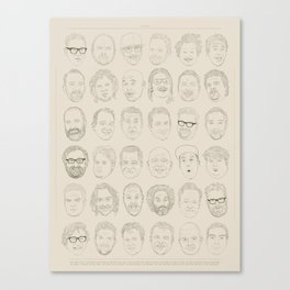 36 Funny People Canvas Print