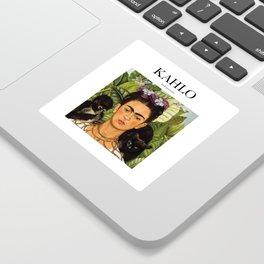 Kahlo - Self-portrait Sticker
