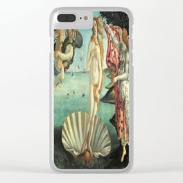 Sandro Botticelli's The Birth of Venus Clear iPhone Case