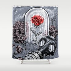 The Last Flower On Earth Shower Curtain