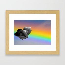 Warm Blanket Framed Art Print