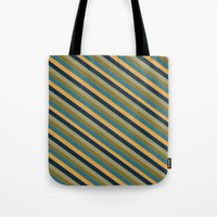 preppy Tote Bags featuring Preppy No.2 by Farnell
