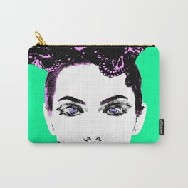 La femme Medusa green Carry-All Pouch