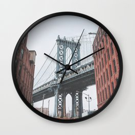 Dumbo Brooklyn New York City Wall Clock