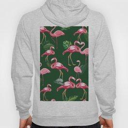 Flamingos Love Pattern 5 Hoody