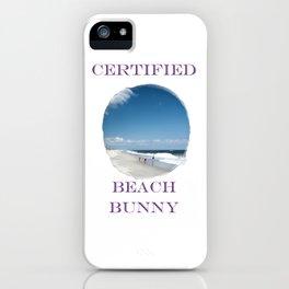 Certified Beach Bunny iPhone Case