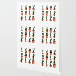 Various Cacti Wallpaper