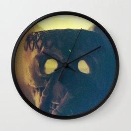 Skullflower 2 Wall Clock