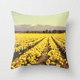 Fields of Bliss Throw Pillow