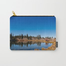 Lake Atop the Grand Mesa Carry-All Pouch