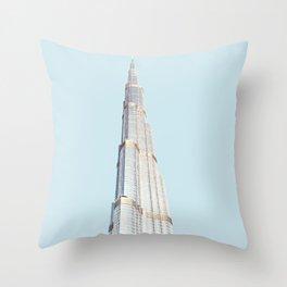 Dubai, UAE Travel Artwork Throw Pillow