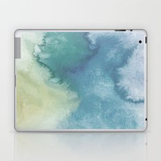 Watercolor blue Laptop & iPad Skin