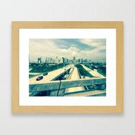 First Bend Framed Art Print