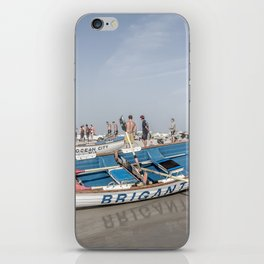 Brigantine Lifeboat iPhone Skin