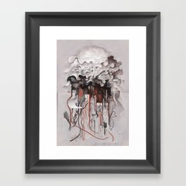 The Unfurling Dreamer Framed Art Print