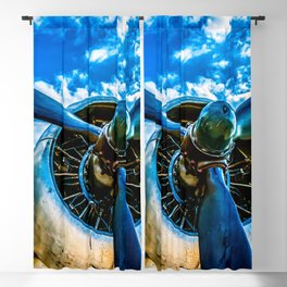 Aviation forever Blackout Curtain