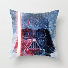 Darth Vader Storm Throw Pillow